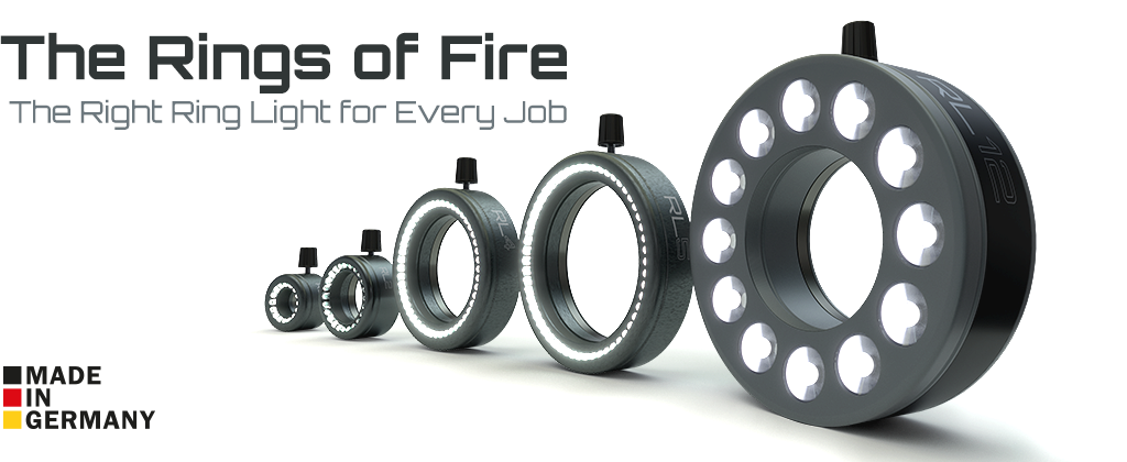 The Rings of Fire - LED-Ring Lights