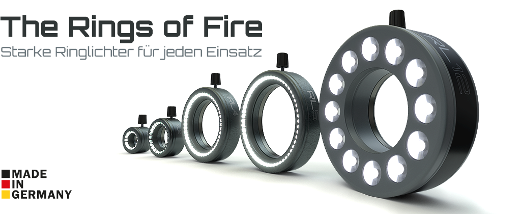 The Rings of Fire - LED-Ringlichter