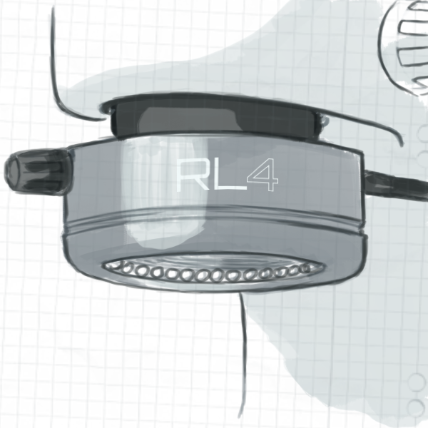 Konzept RL4 am Mikroskop